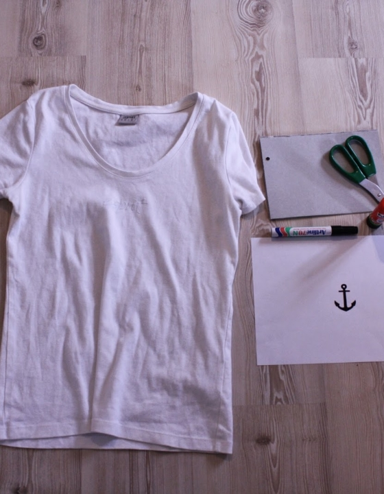 DIY T-SHIRT MARIN